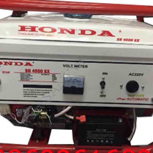 Máy phát điện Honda SH 4500C AVR giật tay 3 kw; xăng
