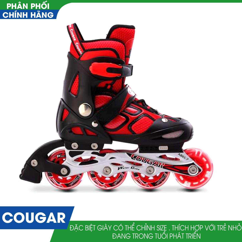 Giá bán Giày Trượt Patin Cougar 835L ( Đỏ)