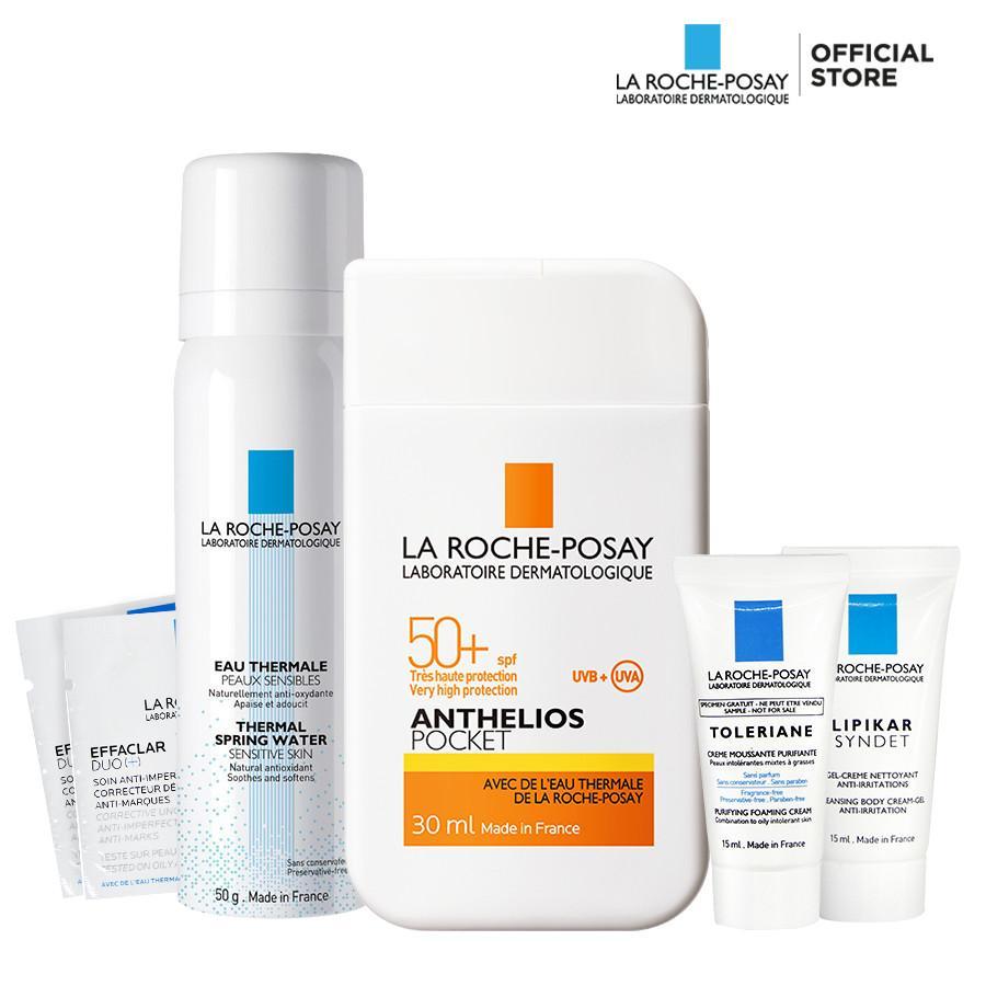 Hình ảnh Bộ sản phẩm chống nắng và chăm sóc toàn diện cho da La Roche Posay Pocket Size