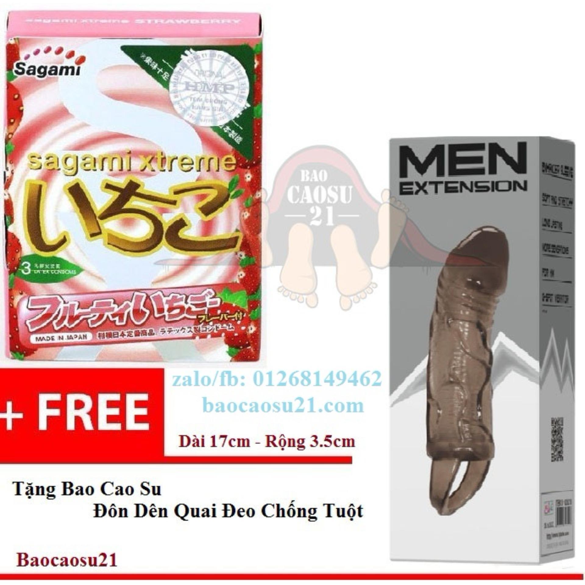 Mua Bcs21 Lovetoys Bao Cao Su Sagami Xtreme Strawberry Tặng Bao Cao Su Đon Den Quai Đeo Chống Tuột Rẻ Trong Hồ Chí Minh
