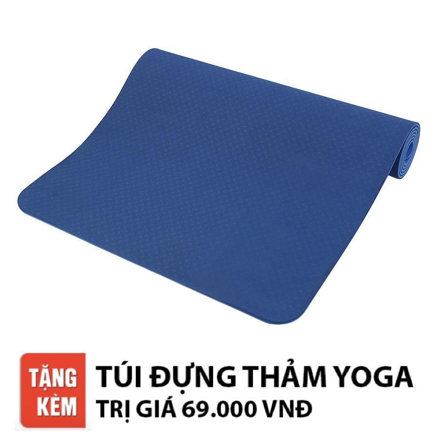 Chiết Khấu Thảm Tập Yoga Relax Ec Tpe 2 Lớp 6Mm Cao Cấp Hồ Chí Minh