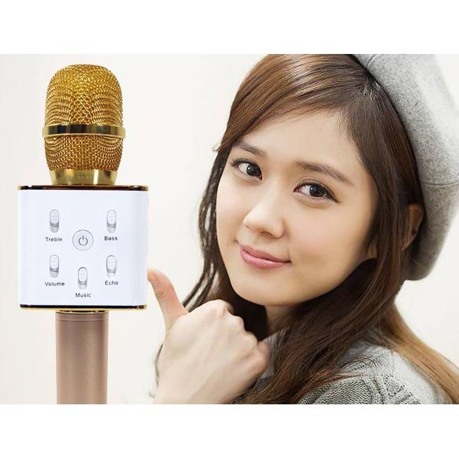 Mã Khuyến Mại Loa Hat Ban Micro Q7 Hd322 Loa Kem Micro Gia Re Micro Loa Q7 Pro 3 In 1 Mic Karaoke Loa Bluetooth Bluetooth Speaker Mới Nhất