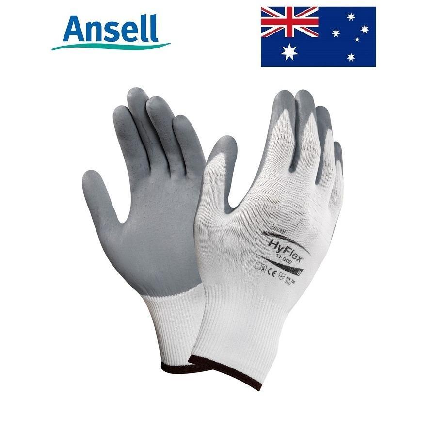 Hình ảnh Găng tay Hyflex phủ Nitrile dầy Ansell 11-800