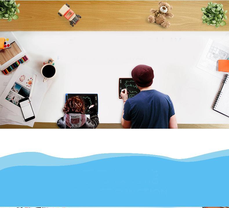 Hình ảnh Bảng Viết Vẽ Thông Minh Tự Xóa Màn Hình LCD 8.5 Tặng Kèm Bút Cảm Ứng Giá RẺ CHỈ NGÀY HÔM NAY
