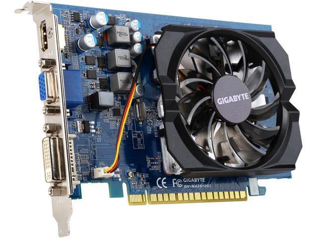 Hình ảnh Card Hình, VGA Gigabyte N420 2GB