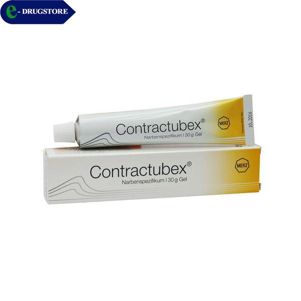 Hình ảnh Contractubex trị sẹo. Tube 10g gel