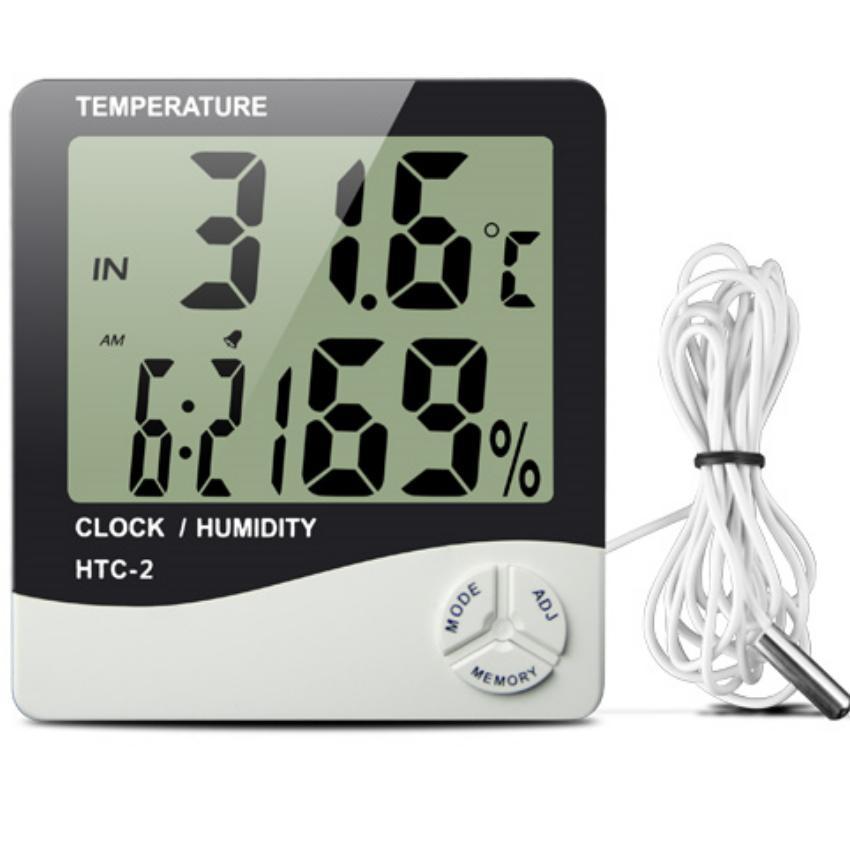 Hình ảnh Đồng hồ đo nhiệt độ và độ ẩm HTC-2