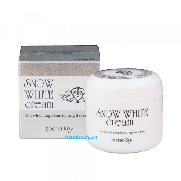 Kem dưỡng trắng da đa năng 4 trong 1 Secret Key Snow White Cream 50g