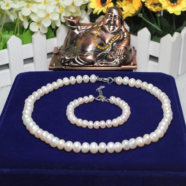 Bộ trang sức ngọc trai cao cấp- Bộ Chuỗi Ngọc Trai BODB3904 Bảo Ngọc Jewelry