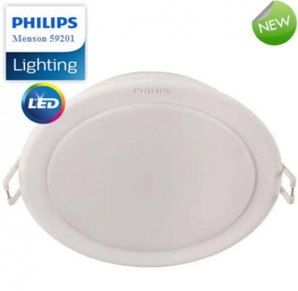 [Chính Hãng] Đèn Led Downlight Âm trần Philips MESON 59447 Ø90 5W Ánh Sáng Trắng