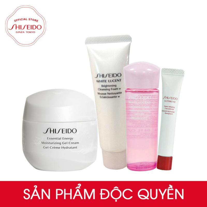 Bộ sản phẩm dưỡng ẩm - truyền năng lượng Shiseido Essential Energy Moisturizing Gel Cream 50ml nhập khẩu