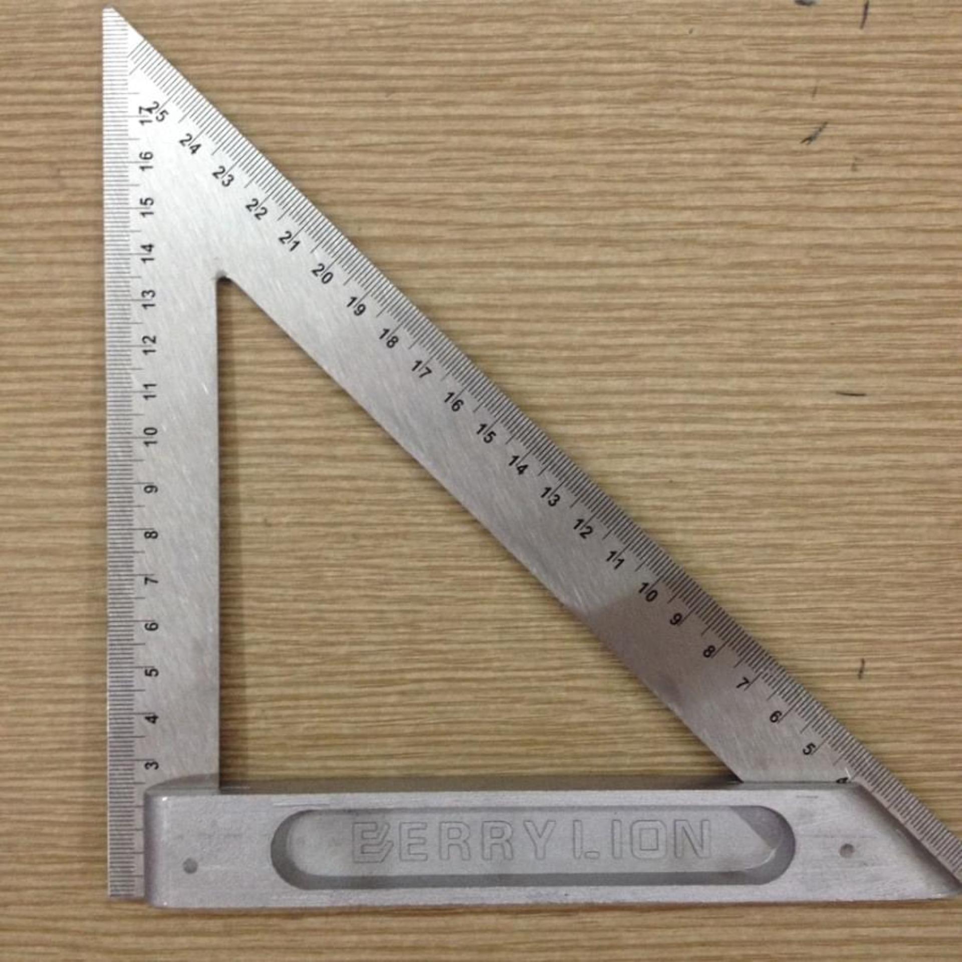 Thước góc tam giác Berrylion 200mm - 070703200 Nhật Bản