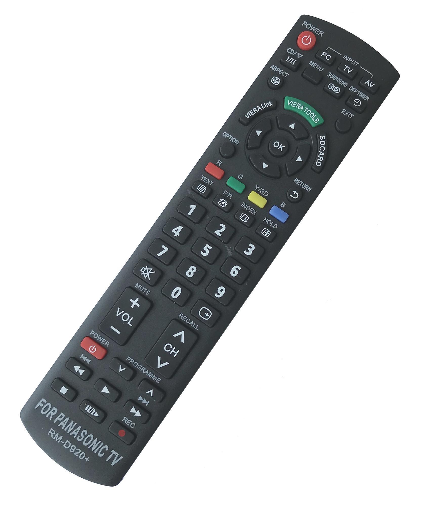 Bảng giá Điều Khiển TV PANASONIC Đa Năng RM-D920 - Dùng cho các dòng TV LCD/LED PANASONIC