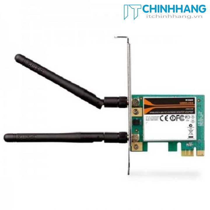 Card mạng không dây D-Link DWA-548 Wireless PCI Express chuẩn N300Mpbs - Hãng phân phối chính thức