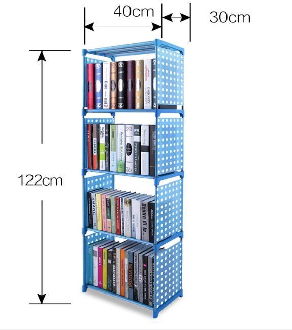 Kệ sách treo tường giá rẻ-kệ sách 5 tầng, 4 ngăn lắp ghép thông minh. Bảo hành uy tín 1 đổi 1 bởi Your Home
