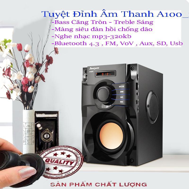 Hình ảnh Tai App Nhaccuatui, Tuyệt Đỉnh Âm Thanh Loa A100 - 203 Korea, Bass ấm, Treble Sáng, Tiếng Trong, Nghe Nhạc Mp3 320Kb , Bluetooth 3.0, Fm 50Hz, Giá Sỉ Giảm 25% Mã Sp 1173
