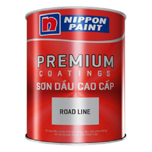 Hình ảnh SƠN NIPPON ROAD LINE 5L / Red