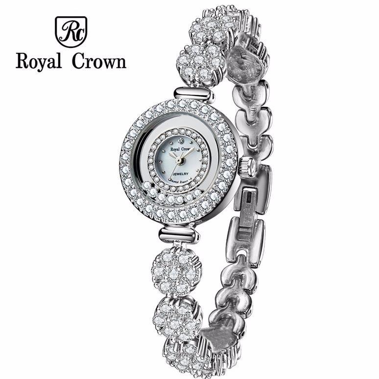 Đồng Hồ Nữ Chinh Hang Royal Crown Italy 5308 Jewelry Watch B21 Nguyên