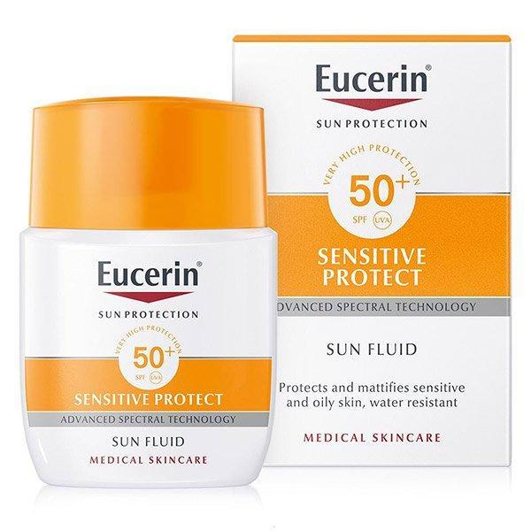 Kem chống nắng cho mặt Eucerin Sensitive Protect SPF50+ 50ml - Đức