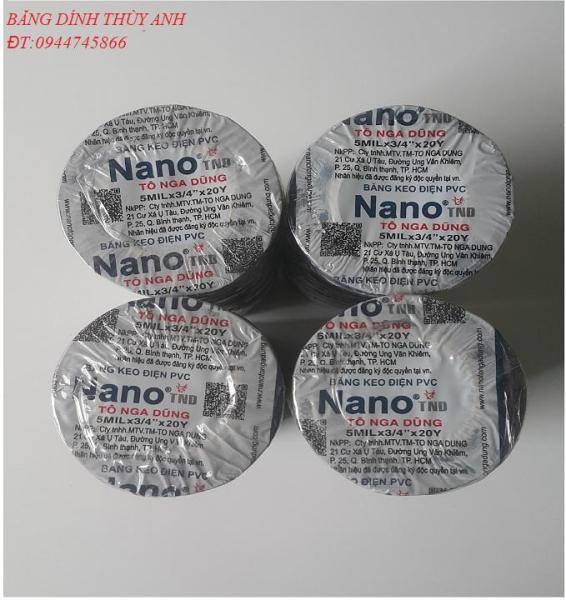 Mua Băng dính điện Nano 20y (10 cuộn / cây)