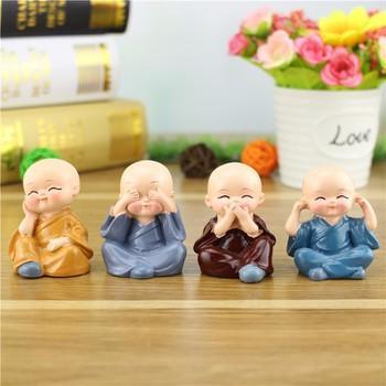 """[HCM]Bộ tượng phật 4 Chú Tiểu """" 4 KHÔNG"""" Nhật Bản. Văn hóa phẩm Phật giáo uy tín giá tốt.Đồ thờ cúng giá tốt."""