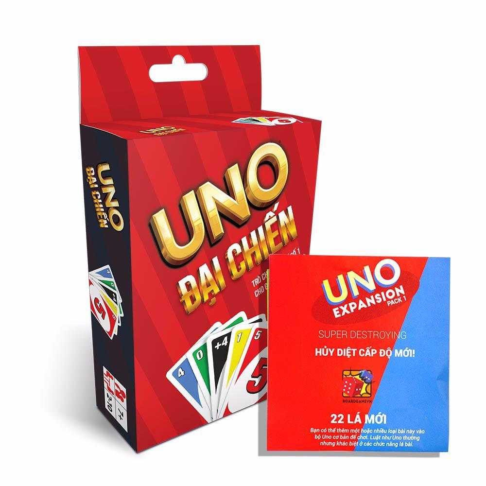 Hình ảnh Combo bài Uno đại chiến và Uno mở rộng #1 Battle