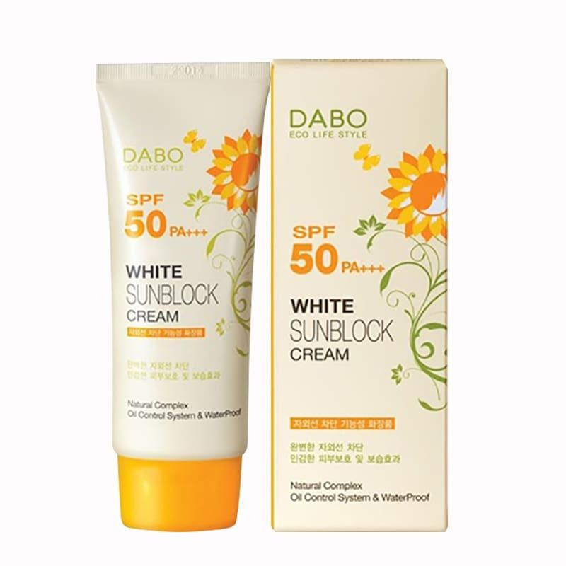 Kem Chống Nắng dưỡng da DABO Sunblock Cream SPF50 PA+++ nhập khẩu