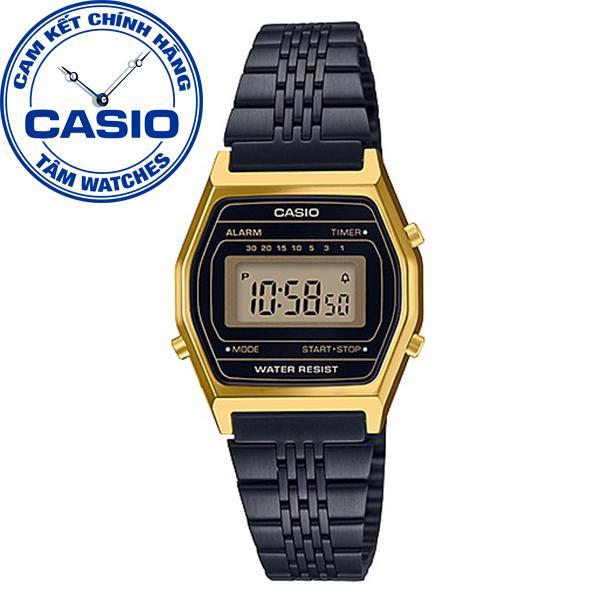 37649613b Đồng hồ nữ dây thép không gỉ Casio Standard Anh Khuê LA690WGB-1DF