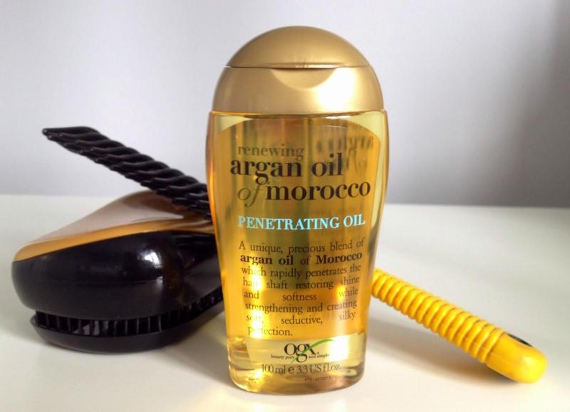 Tinh dầu dưỡng tóc OGX Renewing Argan Oil Of Morocco Penetrating Oil - dưỡng tóc chuyên sâu từ Mỹ nhập khẩu
