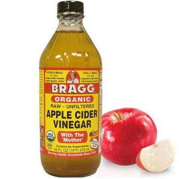 Dấm táo hữu cơ Bragg 473ml