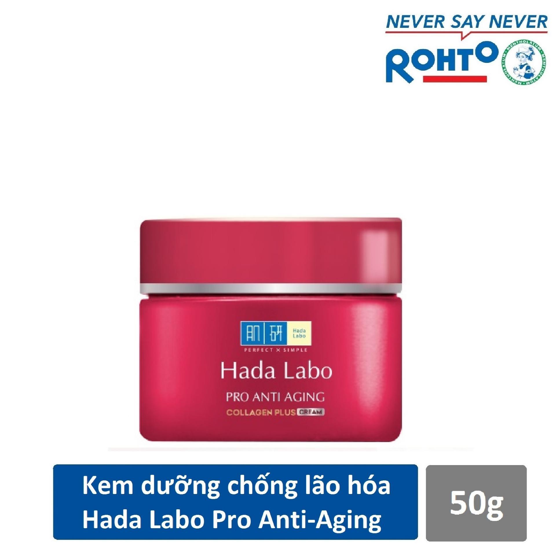 Mã Giảm Giá Kem Dưỡng Chuyên Biệt Chống Lão Hóa Hada Labo Pro Anti Aging Cream 50g