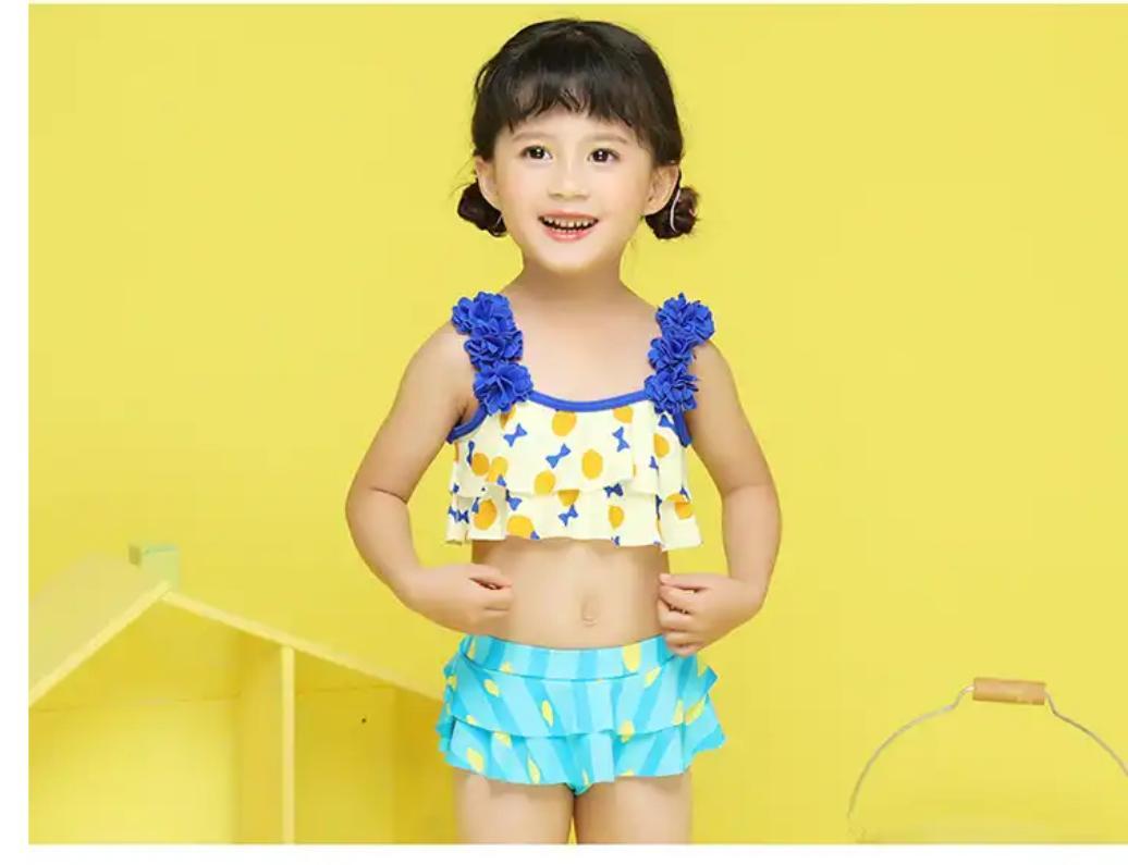 Bộ bơi 2 mảnh cho bé gái