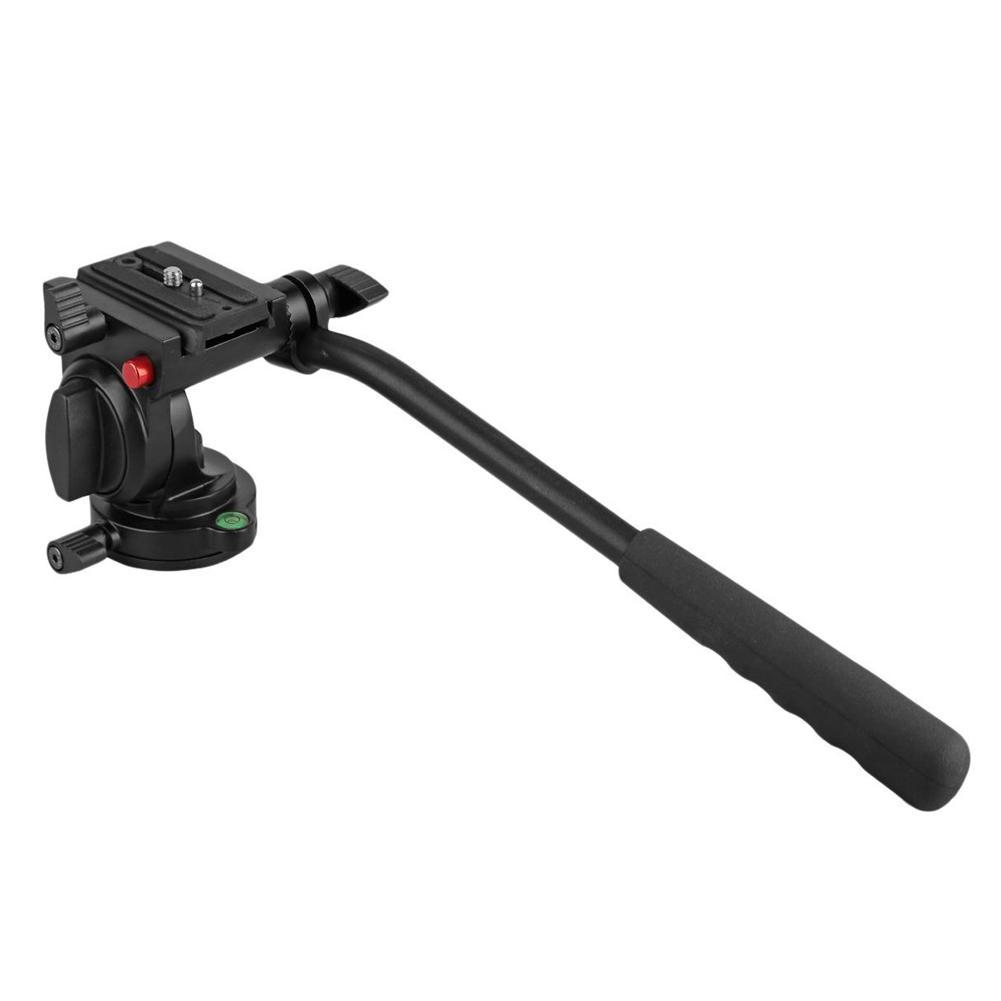 Giá Linh hoạt Nhôm Chân Máy Ảnh Đầu Video Tripod Đầu cho Canon, Nikon và Các MÁY Ảnh DSLR