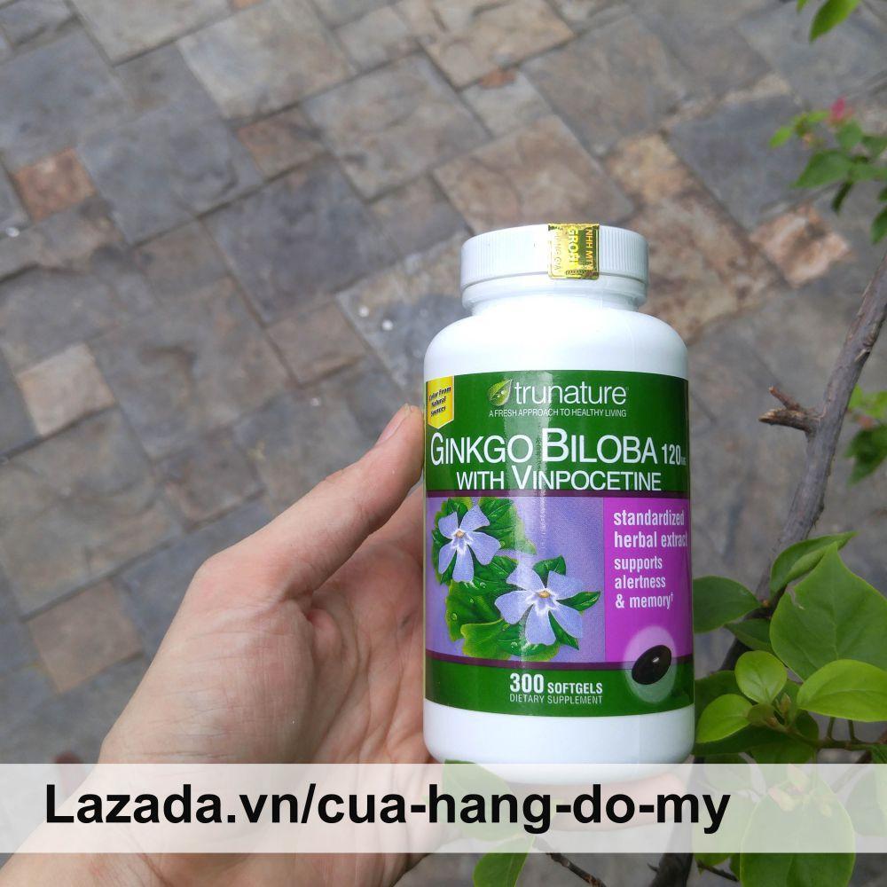 Viên Uống Hoạt Chất Ginkgo Biloba 120mg Hàm Lượng Cao - Viên Bổ Não Của Mỹ 300 Viên By Cửa Hàng Đồ Mỹ.