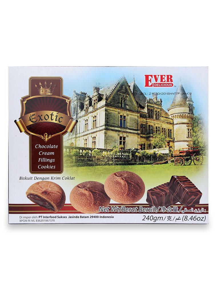 Bánh Quy Ever Nhân Chocolate Hộp 240G