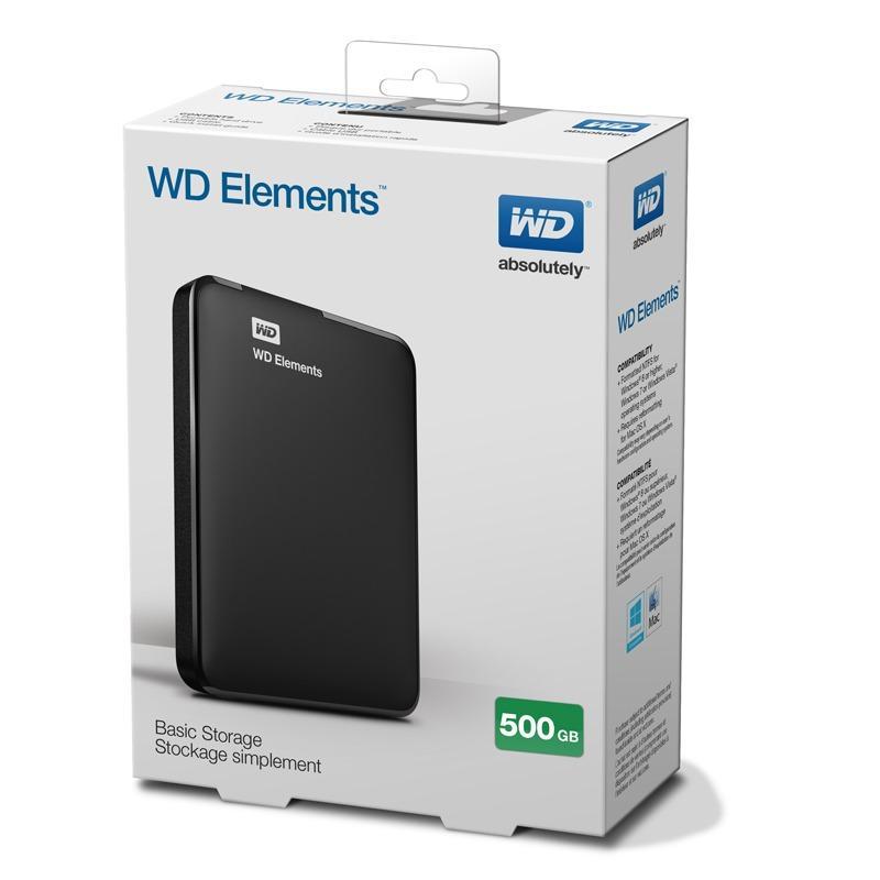 Ổ cứng di động WD Element 500GB 2.5 USB 3.0