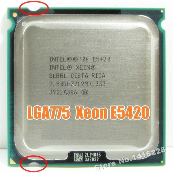 Bảng giá works on LGA 775 motherboard Xeon E5420 Processor 2.5GHz 12M 1333Mhz close to Core 2 Quad Q6600 cpu Phong Vũ
