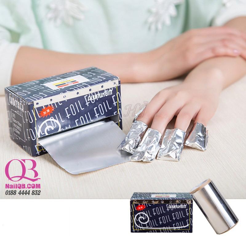 Giấy bạc ủ tháo gel hộp đen 50 x 10