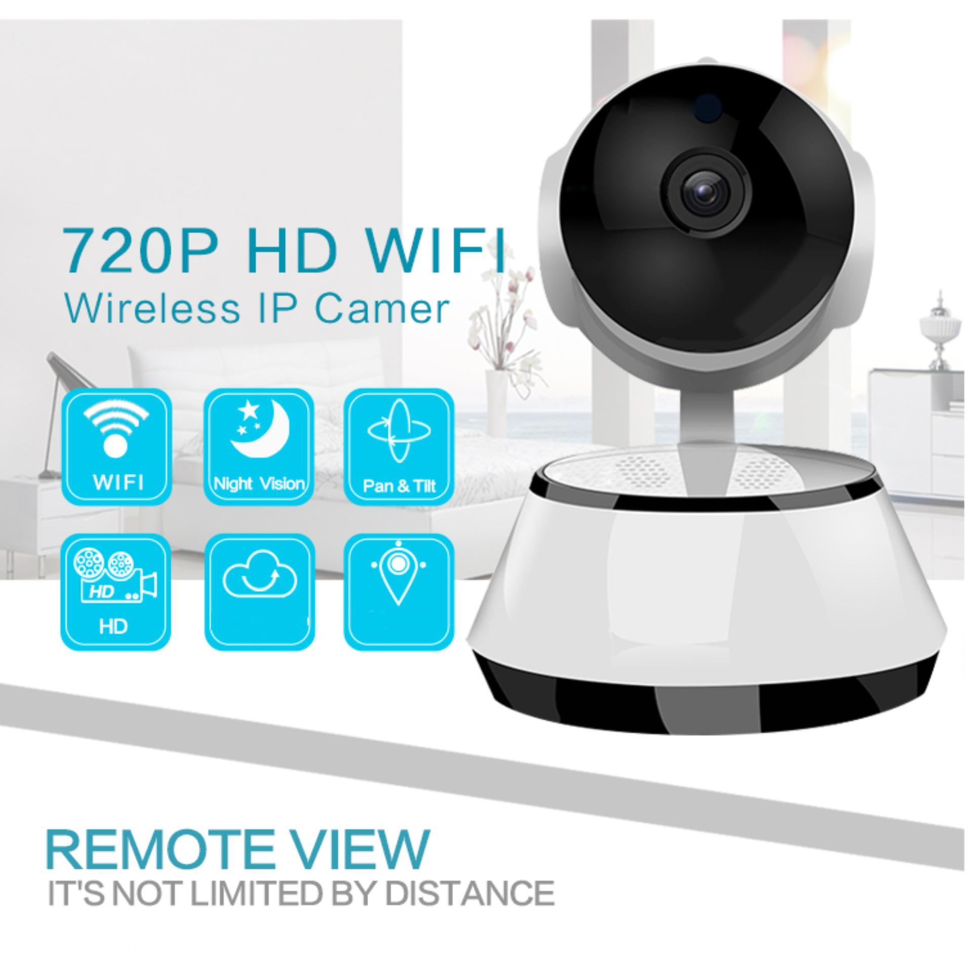 Camera Ip Wifi Trong Nha Xoay 360 Độ V380 Đam Thoại 2 Chiều Bh 12 Thang Oem Chiết Khấu 50