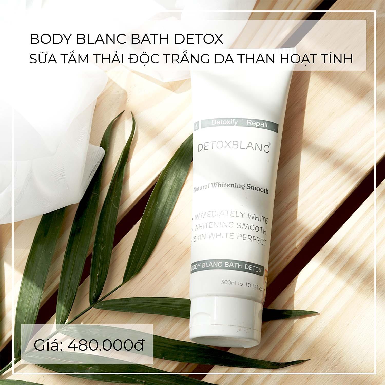 Tắm trắng thải độc tố Detox BlanC