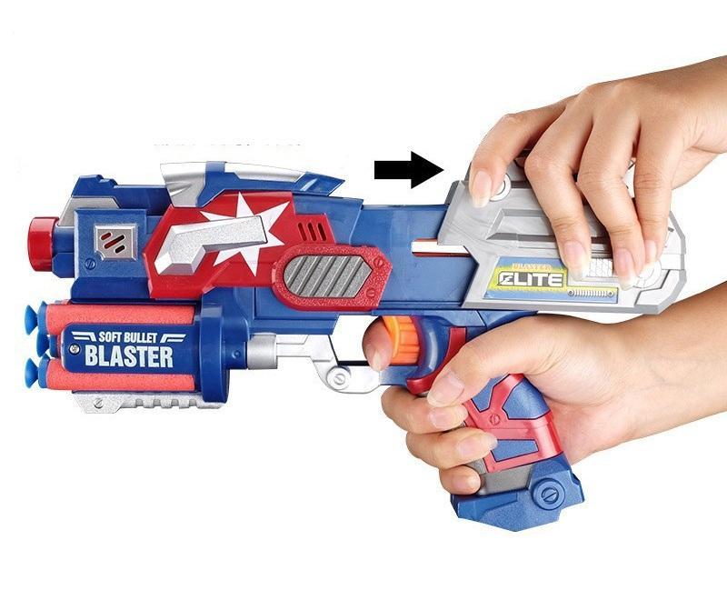 Hình ảnh Đồ chơi trẻ em đạn xốp Captain America cao cấp