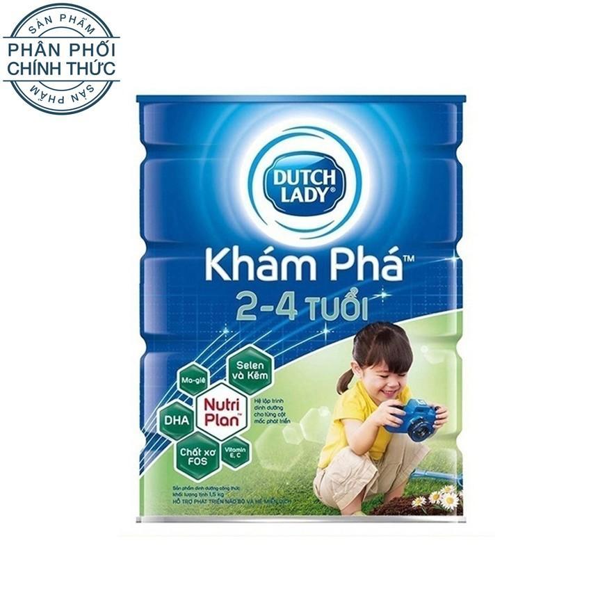 Giá Bán Sữa Bột Dutch Lady Kham Pha 1500 G Nhãn Hiệu Dutch Lady