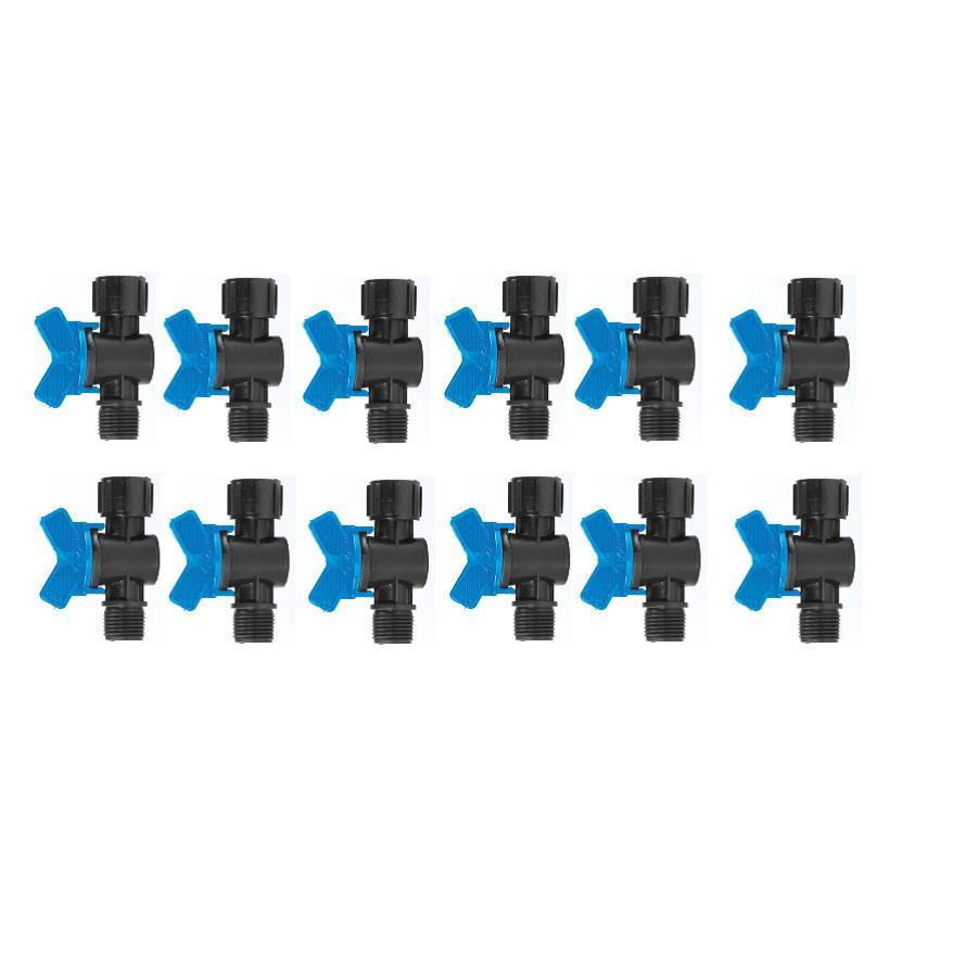 Hình ảnh Bộ 10 Van chỉnh nước ren ngoài 21, ren trong 21