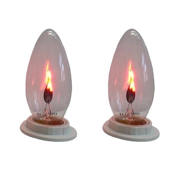 Bộ 2 bóng đèn lửa trang trí 3W