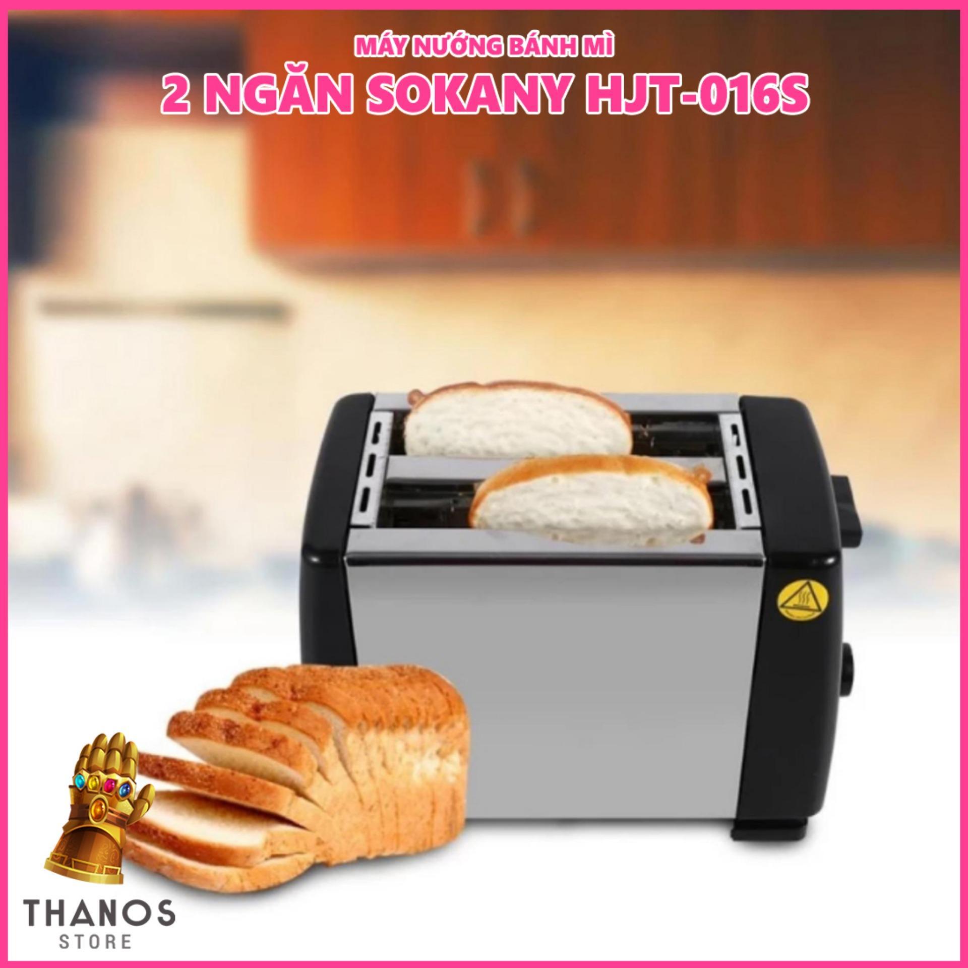 Hình ảnh Máy nướng bánh mì 2 ngăn Sokany HJT-016S - Thanos Store