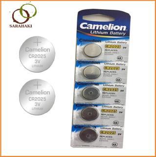 Combo 5 viên Pin CR2025 Camelion Lithium 3V thumbnail