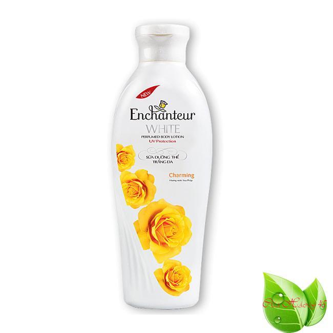 Sữa Dưỡng Thể Trắng Da dưỡng ẩm Enchanteur Charming  200ml cao cấp