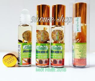 03 Chai Dầu Nhân Sâm Green Herb Thái (tem nội địa) 8ml x 3chai thumbnail