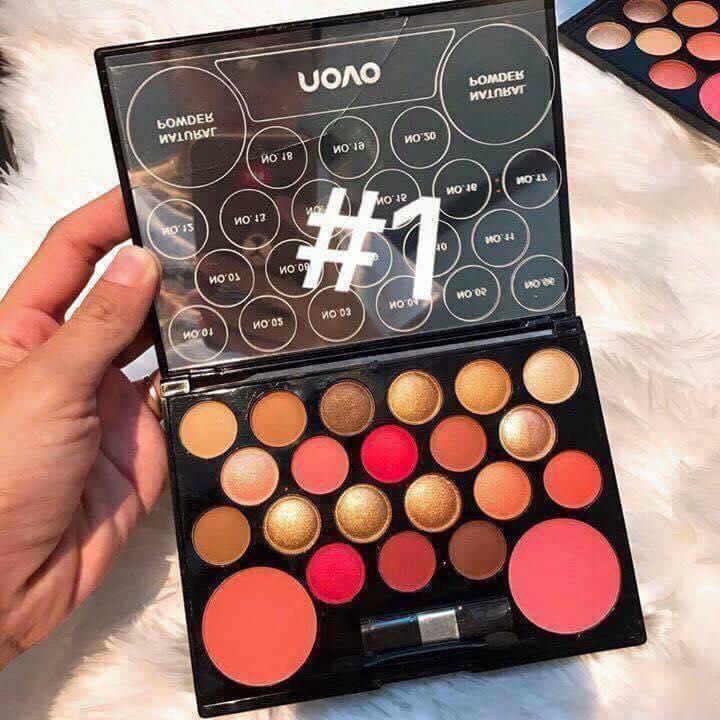 Bộ Phấn mắt và tạo khối NOVO 20+2 Makeup Made in P.R.C nhập khẩu