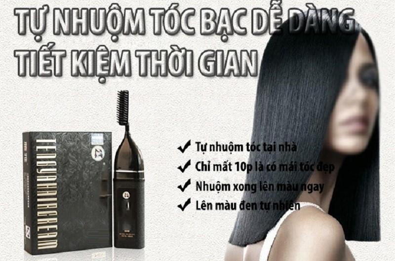 Thao duoc nhuom toc bac , lược nhuộm tóc thông minh tengya cao cấp, lược chải tóc thế hệ mới chất lượng cao. Dòng sản phẩm cao cấp loại 1 1381 .Bảo hành uy tín 1 đổi 1 bởi METROP nhập khẩu
